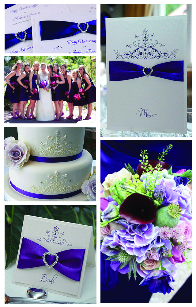 On Trend Wedding Colours 2013: Cadbury Purple