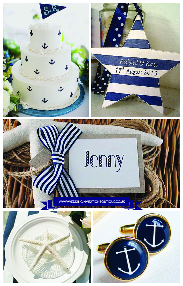 Nautical Themed Wedding Inspiration
