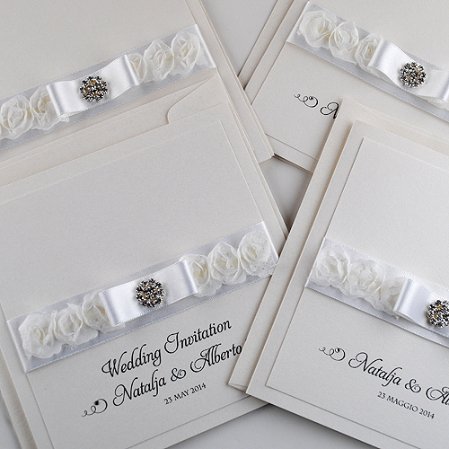 French Rose Invitations