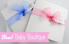 New! Baby Stationery