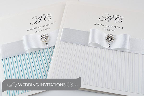 Handmade Luxury Wedding Invitations