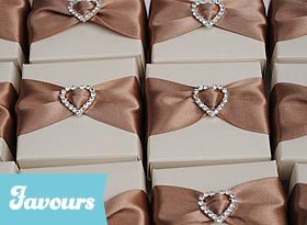 Handmade Wedding Favour Boxes