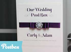 Handmade Wedding Post Box