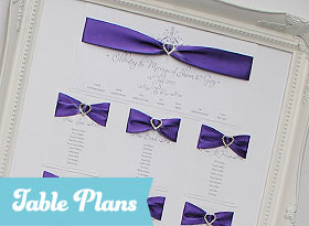 Handmade Wedding Table Plans