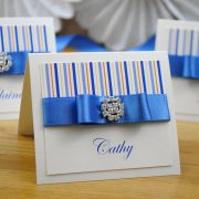 Coco Mono Handmade Wedding Place Card