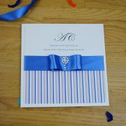 Coco Mono Handmade Wedding Thank You Card