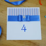 Coco Mono Handmade Wedding Table Number