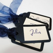 Eros luggage tag place cards