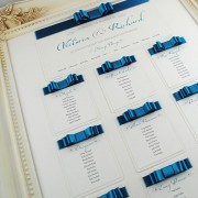 La Belle Table Plan in Teal