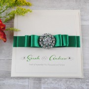 Paris Invitation in Emerald
