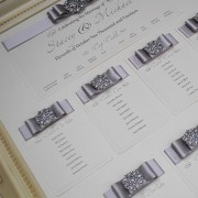 Table Plan in Silver