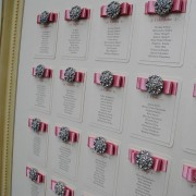Table Plan in Dusky Pink