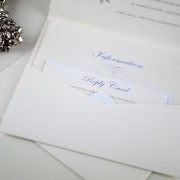 Inside of Pocketfold Invitation