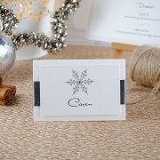 Snow Maiden Place Card