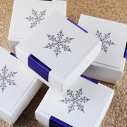Snow Maiden Favour Box