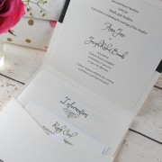 Mademoiselle Pocketfold Invitation