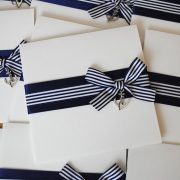 nautical pocketfold wedding invitations