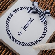 nautical table number