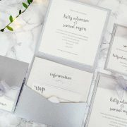 Stardust Luxury Pocketfold Wedding Invitation Suite