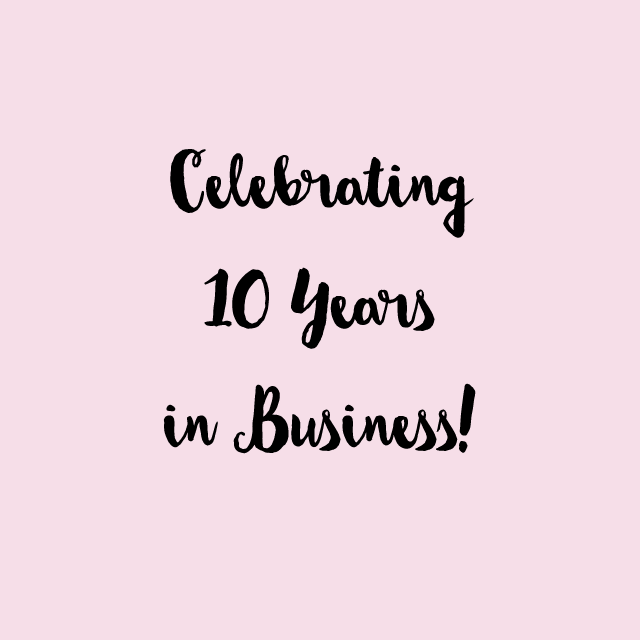 Happy 10th Birthday Wedding Invitation Boutique Offer1
