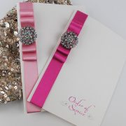 Order of Service in Pink