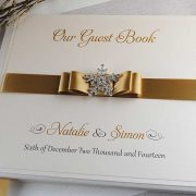 Winter Wedding Guest Book