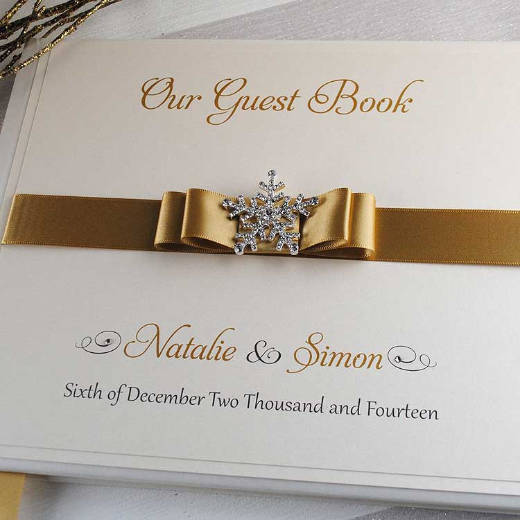 Luxury Wedding Guest Books UK - Wedding Invitation Boutique
