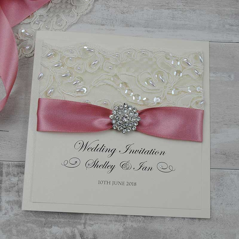 wedding invitations with ribbon uk - 28 images - pocketcard wedding ...