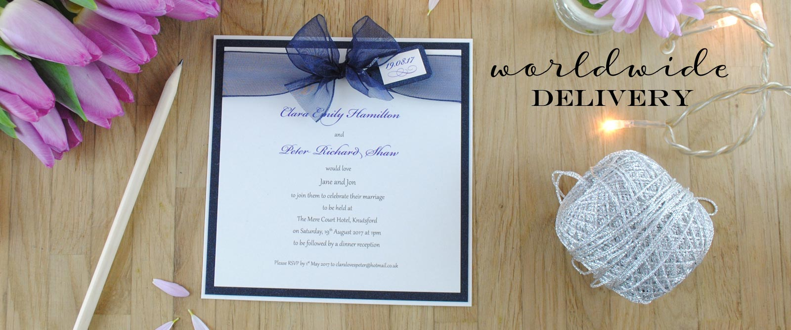 Luxury Handmade Wedding Invitations & Wedding Stationery UK ...