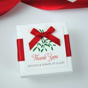 Christmas Wedding Favour Boxes