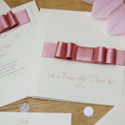 Dusky Pink Wedding Invitations